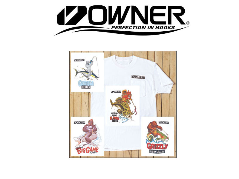 Owner Big Game(Shark) T-Shirt (Large)