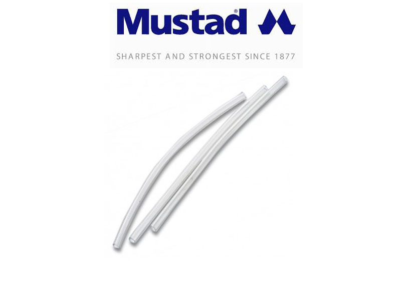 Mustad PVC Stiff Tube (Size: 2mm, 10pcs)