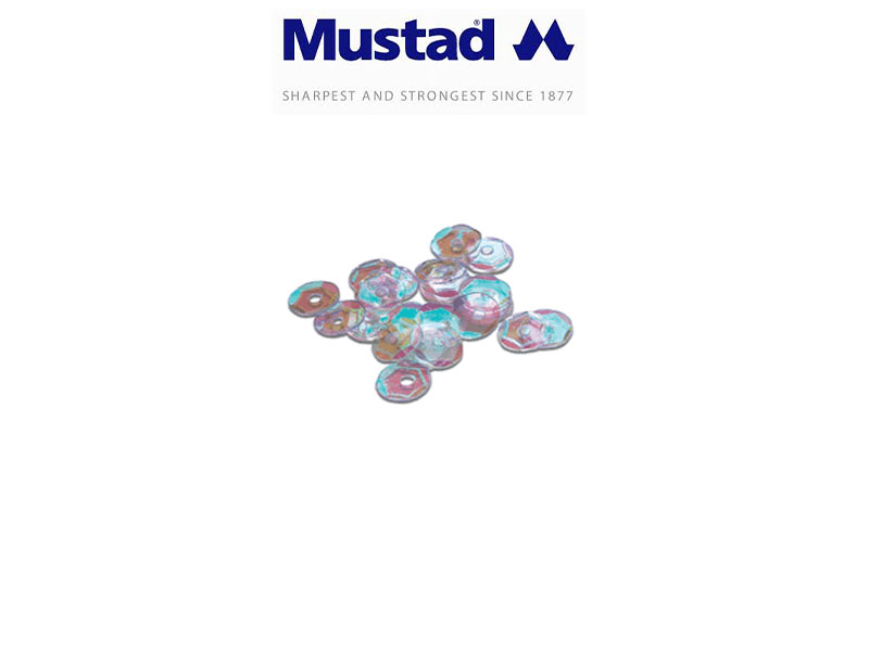 Mustad 9976 Sequins (Size: 1, Pack: 100)