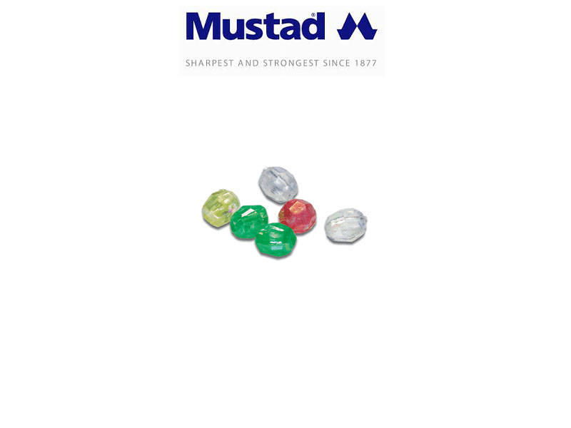 Mustad 9979 Multiface Attractor Beads (Size: 4mm, Pack: 50)
