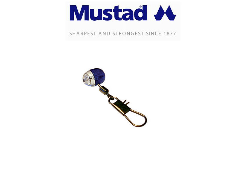 Mustad Slider Bead with Snap (3pcs)