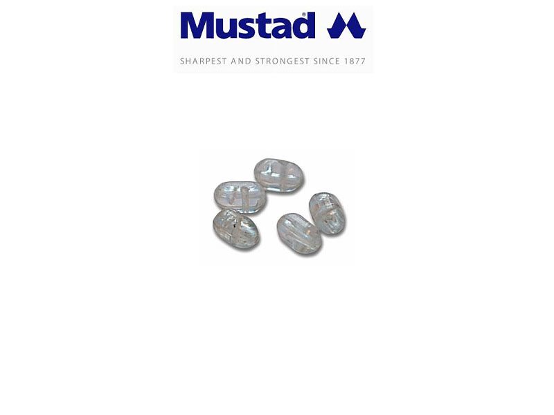 Mustad 9993 2-way dear beads (Size: S, Pack: 12)