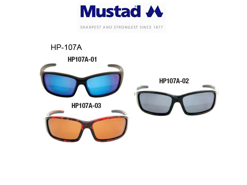 Mustad H.P Polarized Sunglasses Style 107A (Code: HP-107A-2)