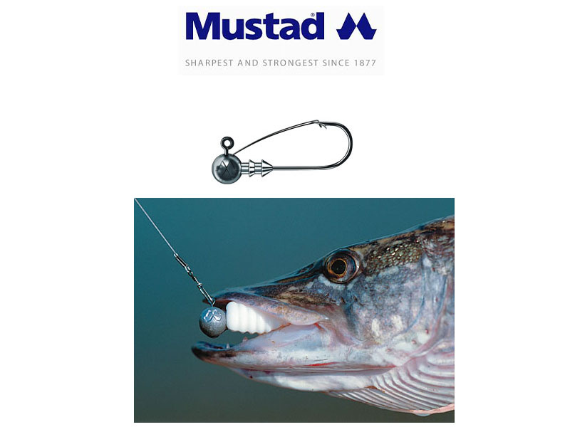 Mustad JH32627AS Anti Snag Jig Heads (Hook: 2/0, Weight: 10g, Pack: 2)
