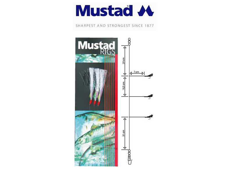 Mustad 3 Hook Flash-a-boo (Hook: 1)