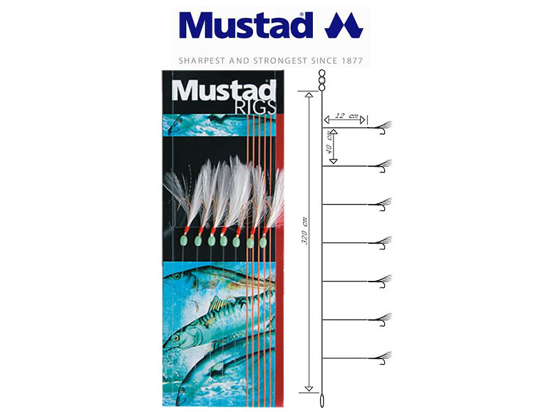 Mustad Feather Rig (Hook: 4)