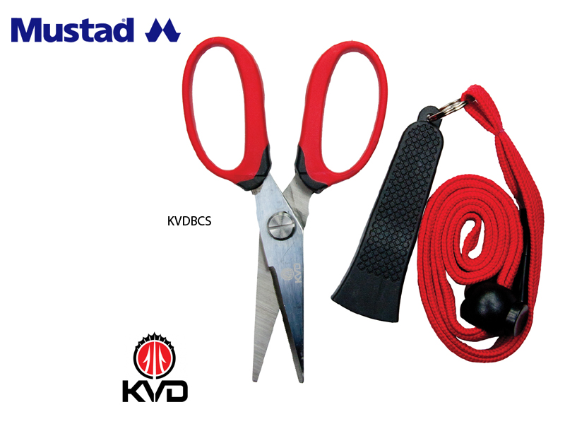 Mustad KVD Braid Cutting Shears KVDBCS