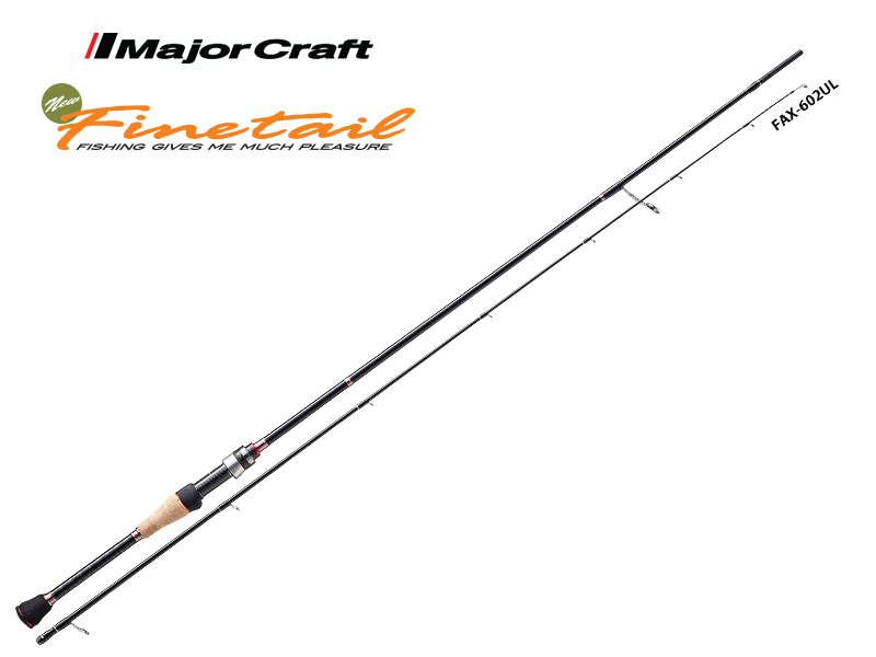 Major Craft New Finetail Area FAX-632UL (Length: 1.92mt, Lure: 0.9-5gr)