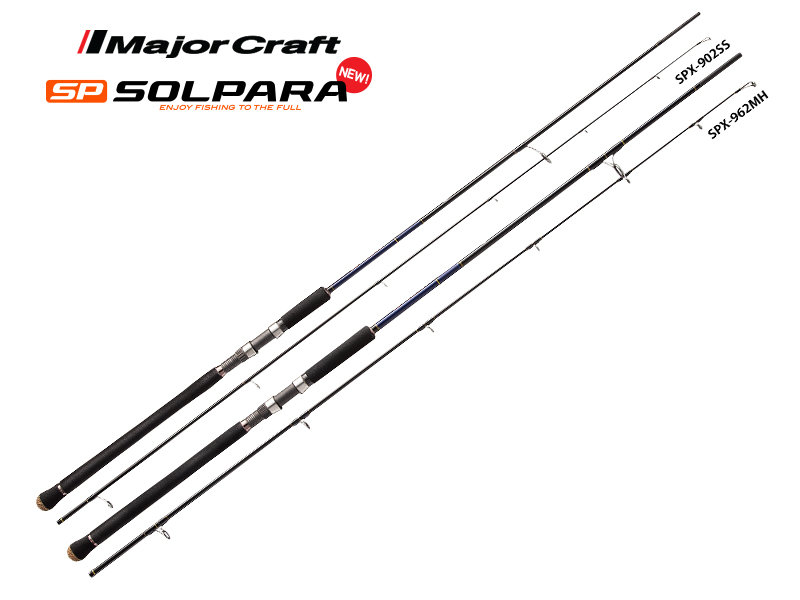 Major Craft New SP Solpara Shore Jigging Series SPX-1002MH (Length: 3.05mt, Lure: 40-80gr)