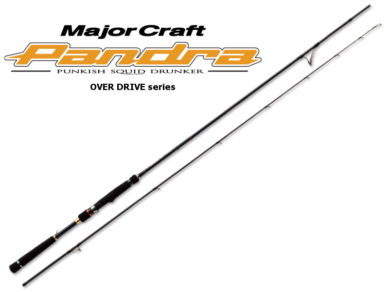 MajorCraft Pandra Eging Over Drive Series PD-782M (Length: 2.37mt, Egi: 2.5-3.5)