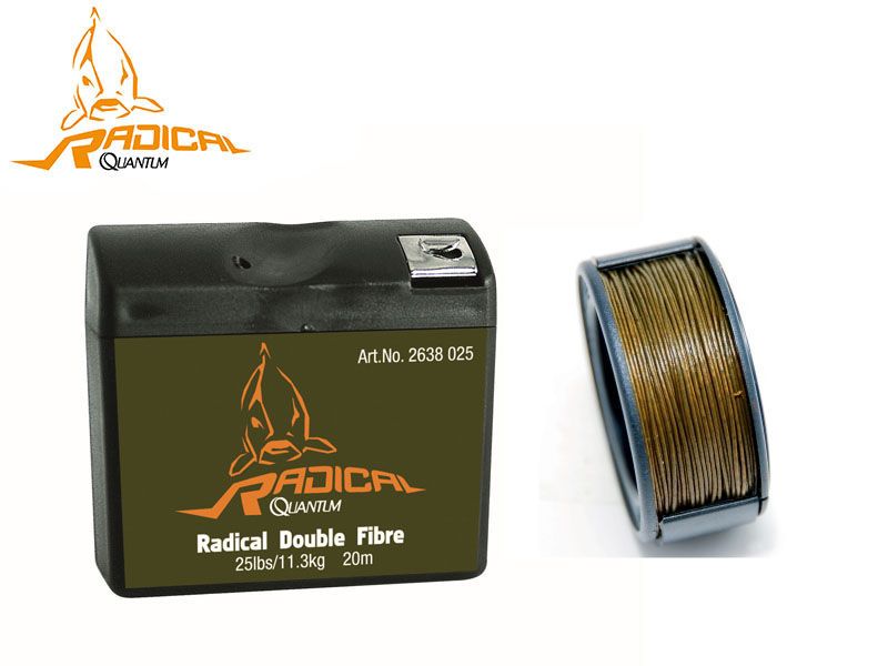 Quantum Radical Double Fibre (BS: 16.7kg/35lb, Length: 15m)
