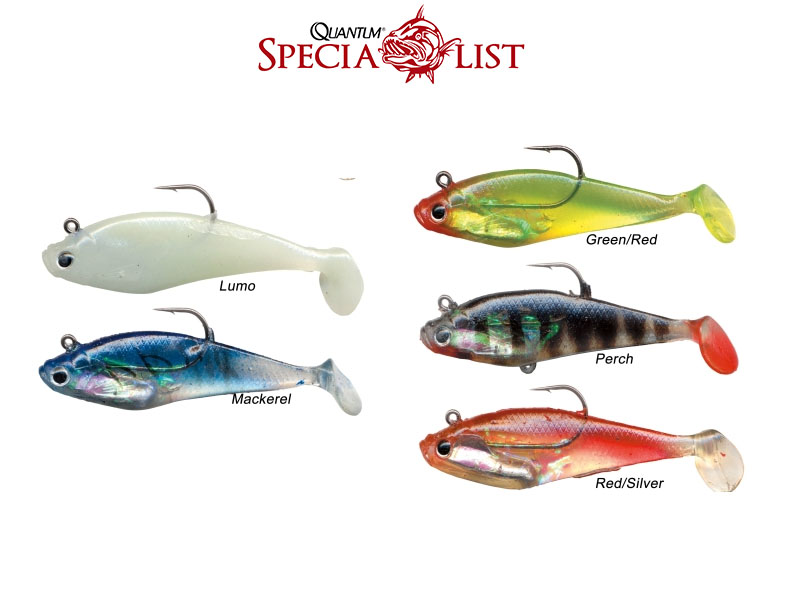 Quantum Sparky Minnow (Colour: Red/Silver, Size 13cm, Weight: 28g, Hook: 4/0, 3pcs)