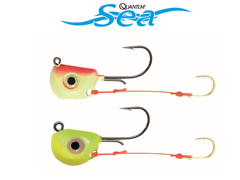 Quantum Tenya Jig (Weight: 45g, Hook: 1/0, BS: 35lb, Colour: Yellow/Glow, 1pcs)
