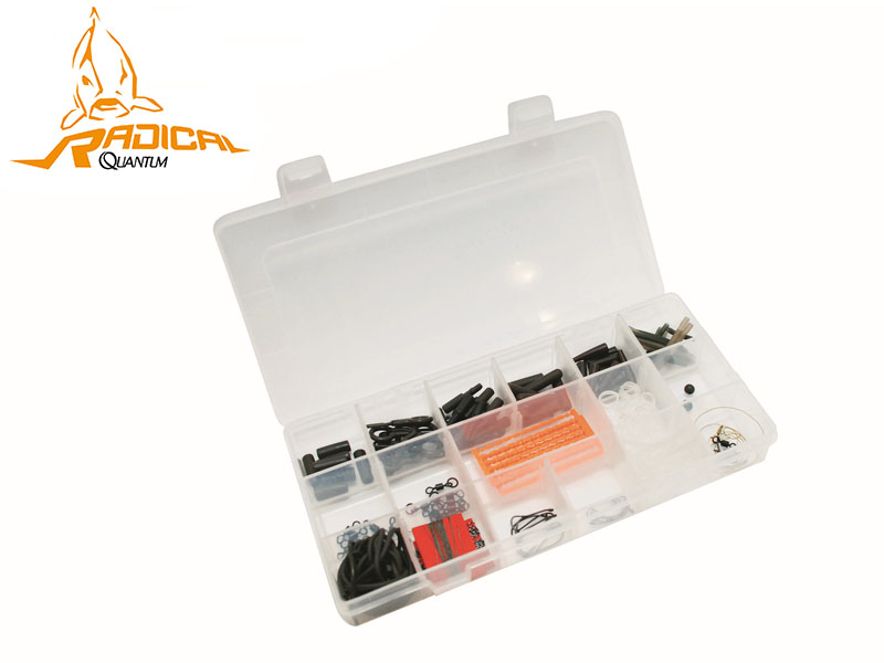 Quantum Radical Carp Set Basic (17 items, 310pcs)