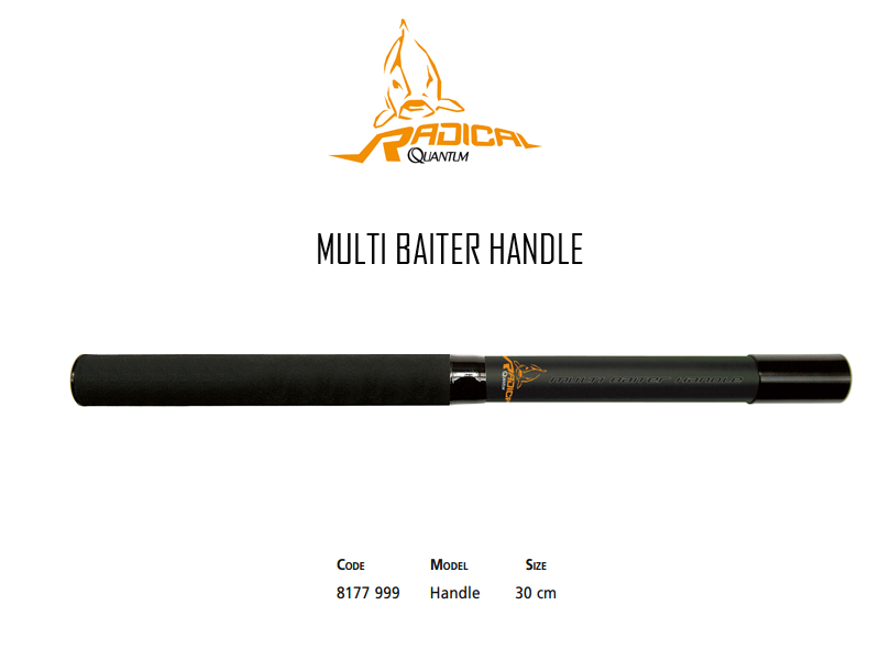 Quantum Radical Multi Baiter Handle (Length: 30cm)