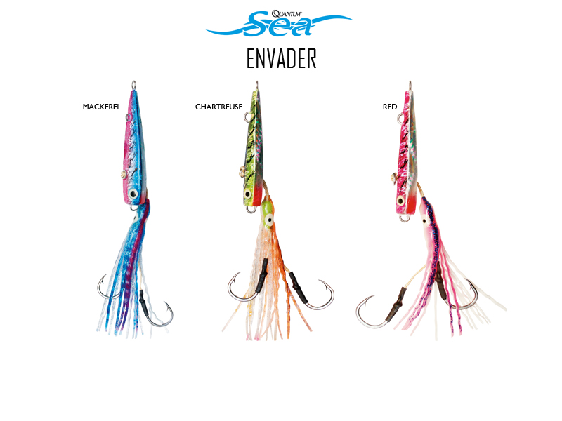 Quantum Envader Inchiku (Weight: 150gr, Hook: 5/0, Color: Red)