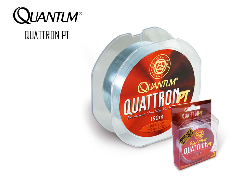 Quantum Quattron PT (Size: 0.309mm, Breaking Strength: 8.50kg, Length: 150M)