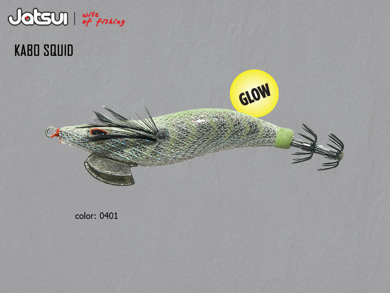 Jatsui Kabo Squid (Size: 3.0, Weight: 14gr, Color: 0401)