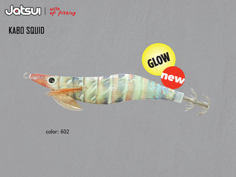Jatsui Kabo Squid Silky (Size: 3.0, Weight: 14gr, Color: 602)