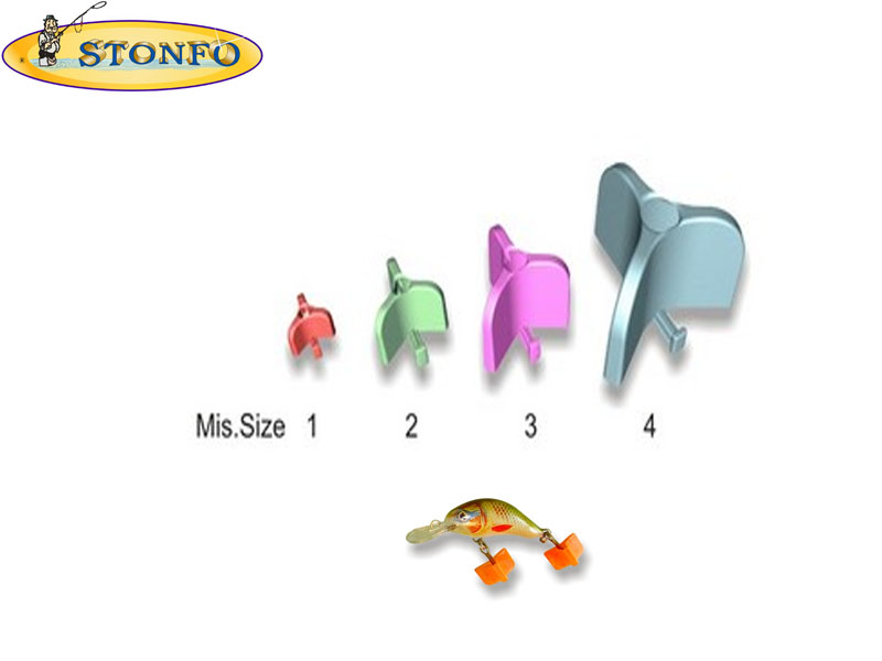 Stonfo Treble Hook Saver (Size 4: for hook-trebles from 1 to 3/0, 10pcs)