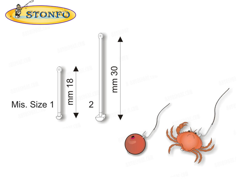 Stonfo Bait Holder (Size: 2, 24pcs)