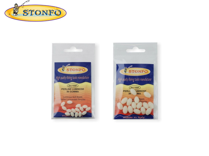 Stonfo Shock Absorbers Luminous Soft Beads (&#8960: 5mm, Pack: 15)