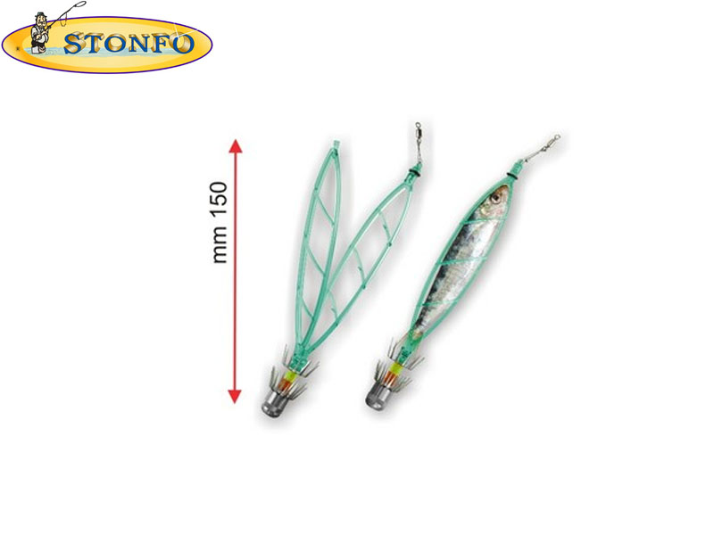 Stonfo Small Frame Squid Lure (5gr, 1pcs)