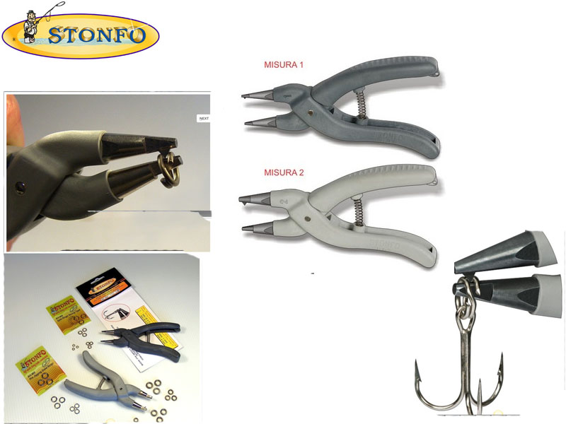Stonfo Split Rings Plier (Size: 2, 1pcs)