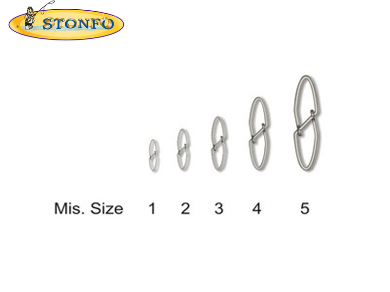 Stonfo Snaps V Type (Diameter: 2mm, Strength:22kg, Pack: 10pcs)