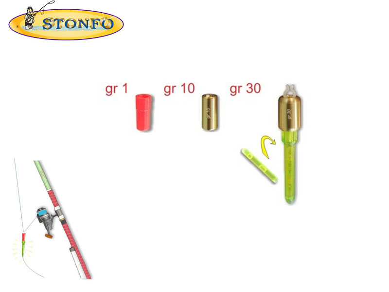 Stonfo Bite Indicator with quick change weight (1pcs)