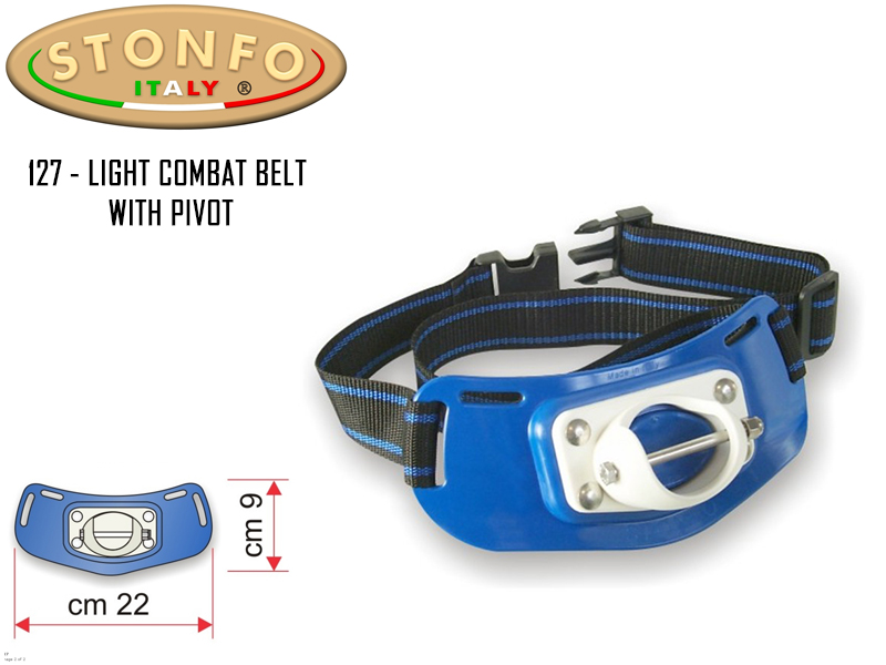 Stonfo 127 - Light Combat Belt With Pivot (22x9cm)