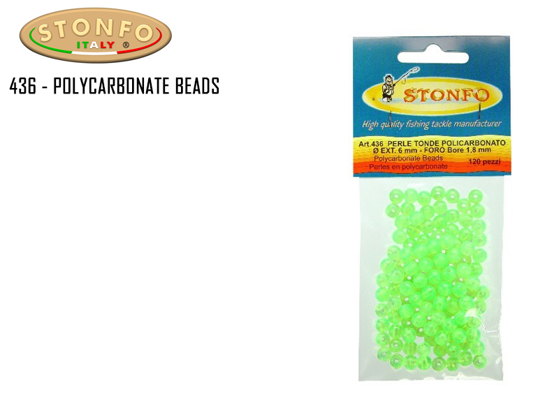 Stonfo 436 - Polycarbonate Beads