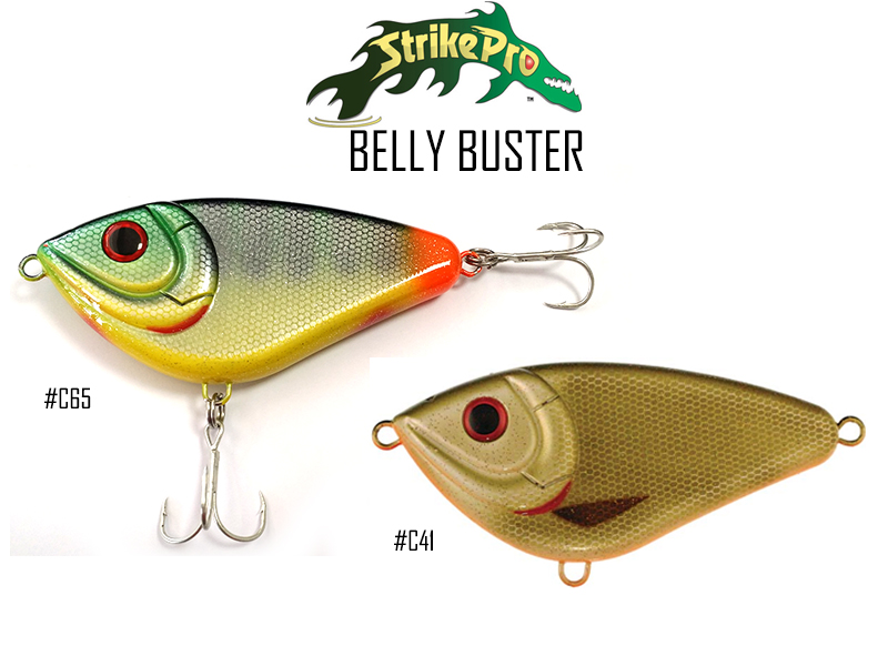 Strike Pro Belly Buster EG-064 ( Length:120mm, Weight:73.5gr, Color:#C65)