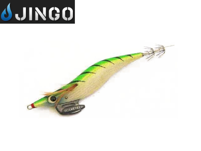 Jingo Rocketeer Egi Lures (Type: Shallow, Size: 4.0g, Color: 21)