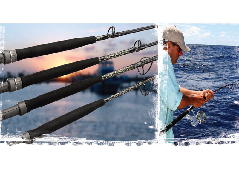 Van Staal VJC58-325 Jigging Rod (Length:1.70mt, Max Lure: 325g)