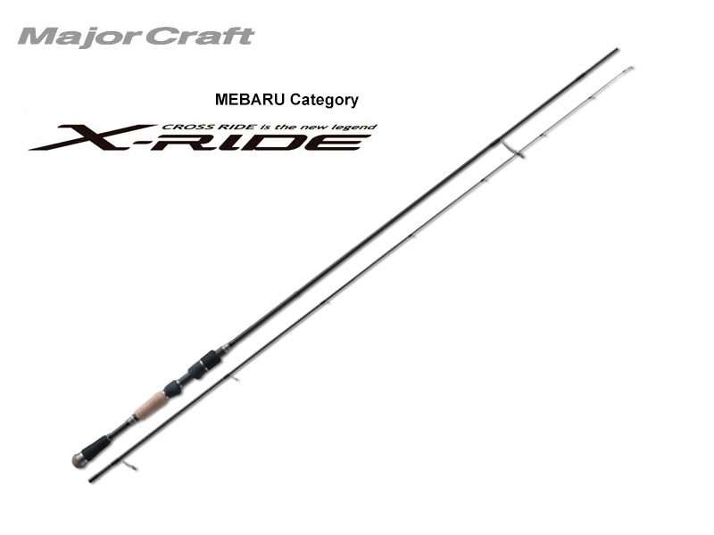 MajorCraft X-Ride Mebaru XRS-S762M (Length: 2.32mt, Lure: 0.5-5gr)