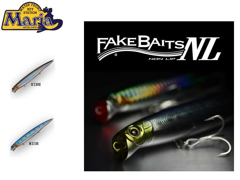 Maria Fake Baits NL-1 (Length: 125cm, Weight: 18g, Depth: 0-50cm, Colour: KIRH)