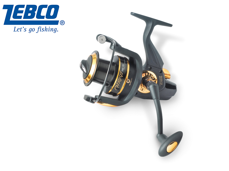 Zebco Patriot FD (Model: 765, m / mm: 430 / 0,30, Gear Ratio: 5.6:1, Retrieve: 112 cm BB: 7, Drag F.: 16 lbs, Weight: 500g)