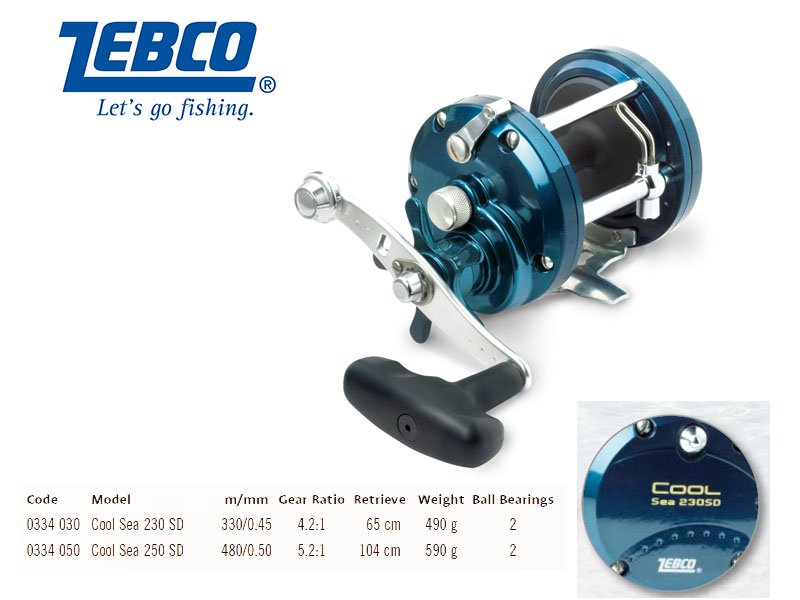 Zebco Cool Sea 230 SD (2BB)