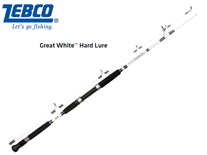 Zebco Great White™ Hard Lure(Length: 2.20m, Sections: 2, C.W.: 80-300 g, Tr.-Length: 1,15 m, Weight: 368 g)