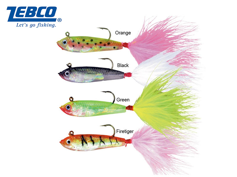 Zebco Firebird Lure (W:7gr, L:10cm, Color: Green, 3pcs)