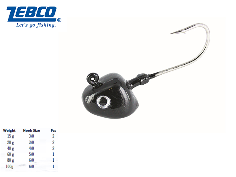 Zebco Creeping Jack (Weight:15g, Hook: #3/0, Pack: 2)