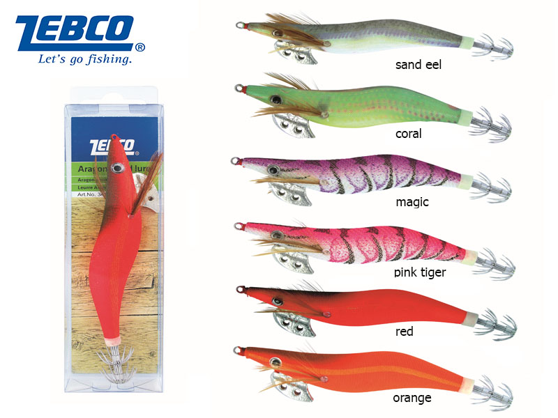 Zebco Aragon Squid Lure (Color: Magic, Length:13cm, Weight: 18g, Pack:1pcs)
