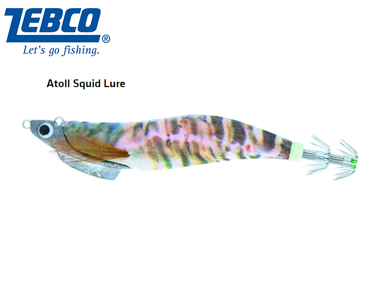 Zebco Atoll Squid Lure(Length: 11cm, Weight: 30g, Color: clipfish)