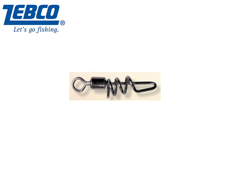 Zebco Screw-In Rolling Swivel(Size:6, Capacity: 25kg, Pack: 5)