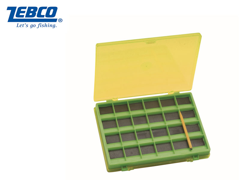 Zebco Magnetic Hook Box (14.5 X 11.5 x 2 cm)
