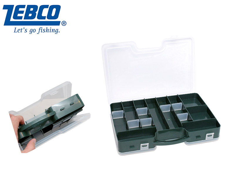 Zebco Double-Sided Lure Box (29 cm x 19 cm x 6.5 cm)