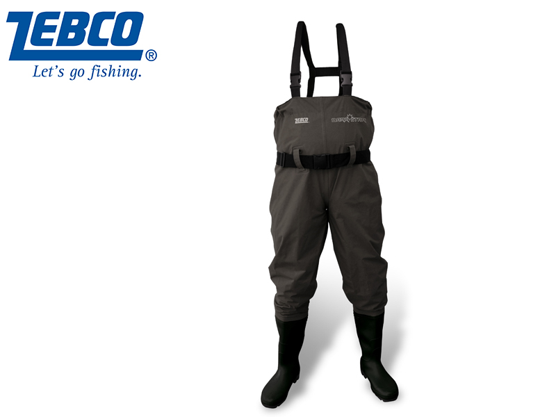 Zebco Dark Star Wader (Size: 45, Color: Green, Pack: 1pcs)