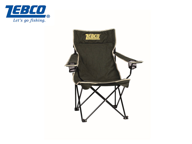 Zebco Folding Chair W/Arms