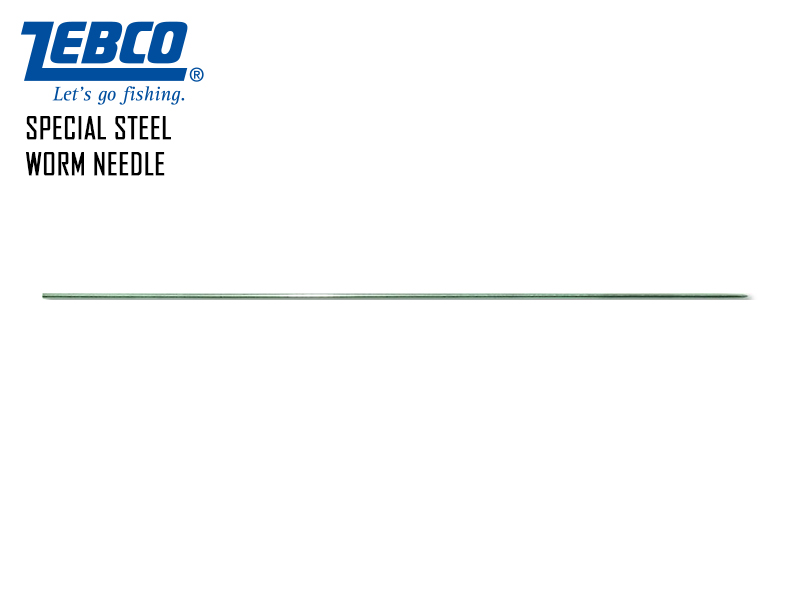 Zebco Special Steel Worm Needle (Length: 30cm, 2pcs)